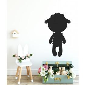 Chalkboard sticker - sheep