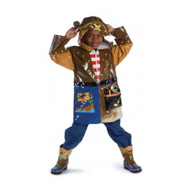 Kids rain coat - Kidorable Pirate
