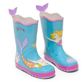 Kids Rain Boots Mermaid
