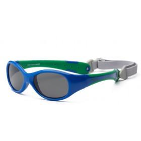 Sunglasses RKS Explorer navy - green (2 -5)