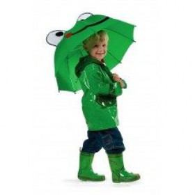 Kids Rain Coat - Frog