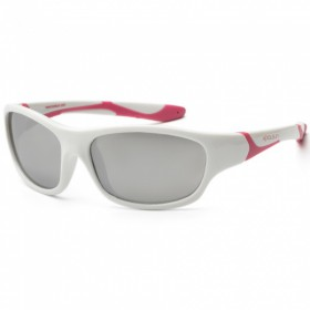 Sunglasses KS sport  white pink  (3-8 let)