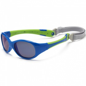 Sunglasses KS  blue lime (0-3)