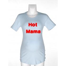 Majica za nosečnice z napisom - Hot mama