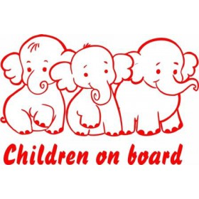 Baby on board elephants