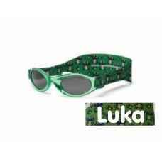 Otroška sončna očala za dojenčke RKS green frog (0-24m) - unisex