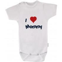 otroški body - I love mommy