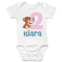 Otroški body rojstni medvedka