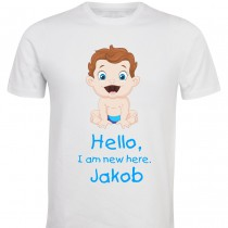 Otroška majica - new here