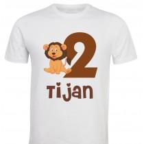 Otroška majica - rojstni dan levček