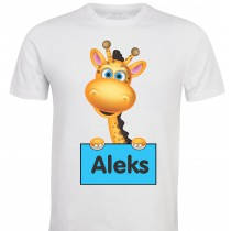 Otroška majica - žirafka