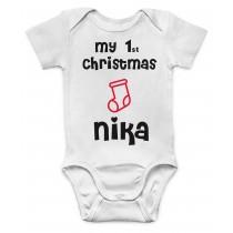 Otroški body moj 1 božič