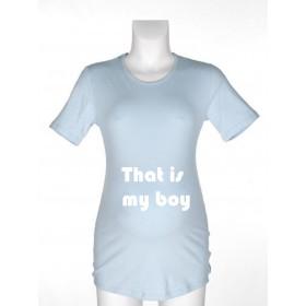 Majica za nosečnice - That's my boy