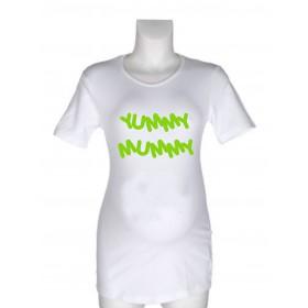 Nosečniška majica z napisom – Yummy Mummy